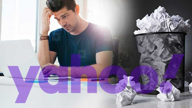 Yahoo mail contacts missing