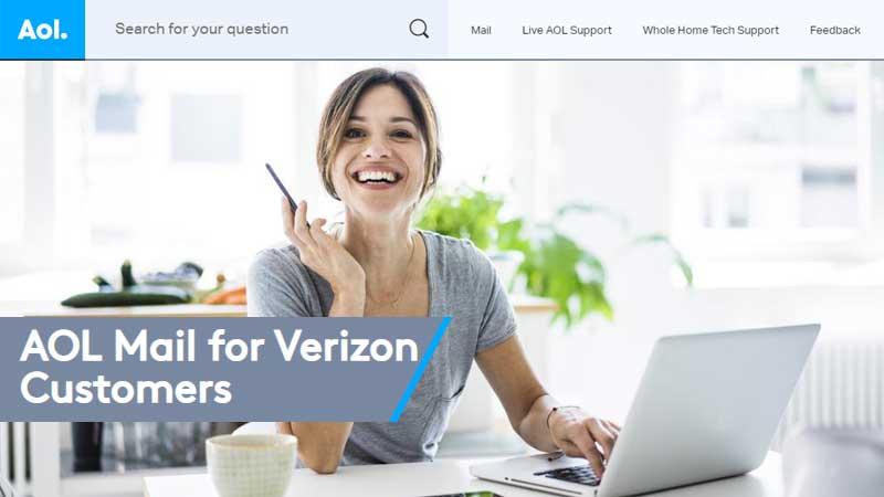 verzion net email login