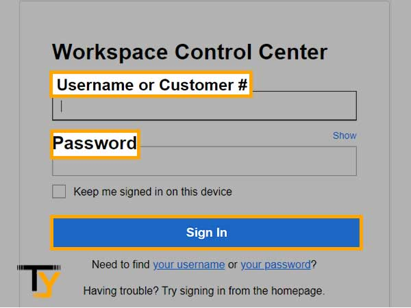 Workspace Control Center