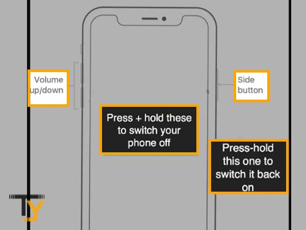 Restart your mobile