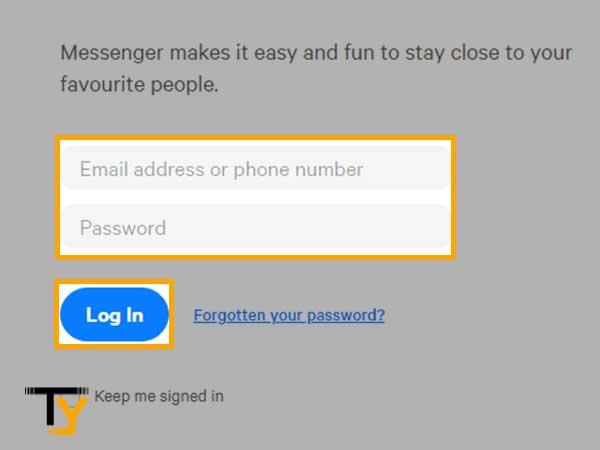 Enter email address or phone number