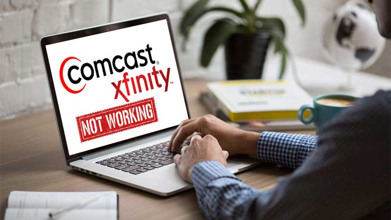 Comcast email is not working