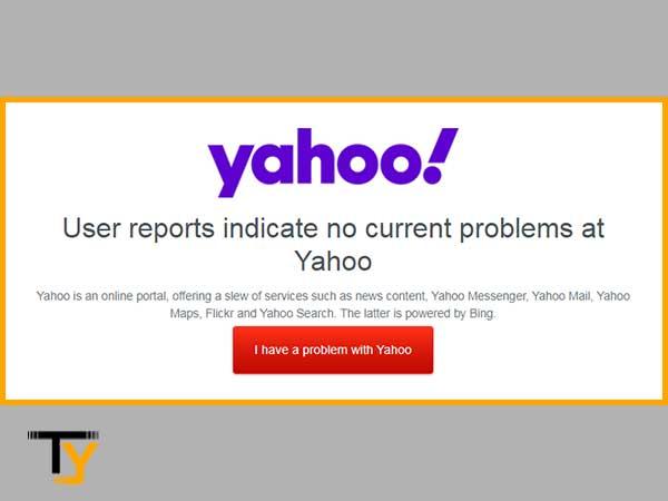 Check Server Status of Yahoo