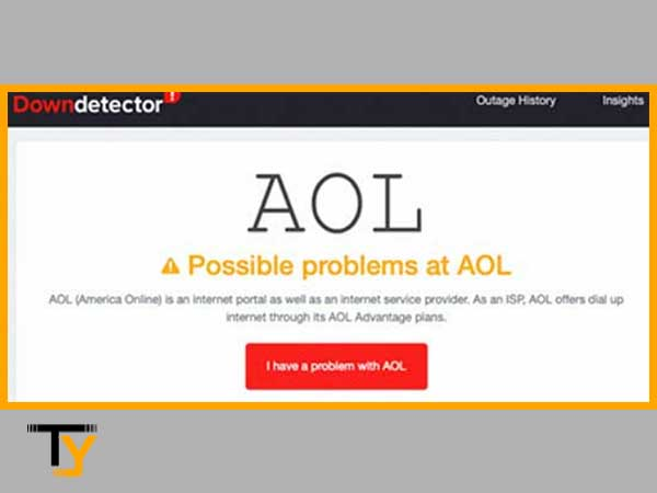 Check possible problems at AOL