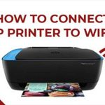 Connecting HP Deskjet 2652 to Wi-Fi
