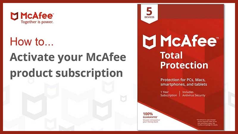 McAfee Activation Process