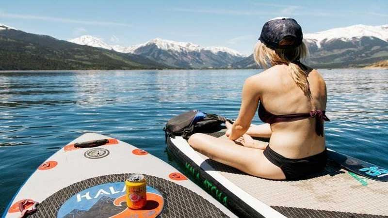 Pre-Workout Routine Paddleboarding