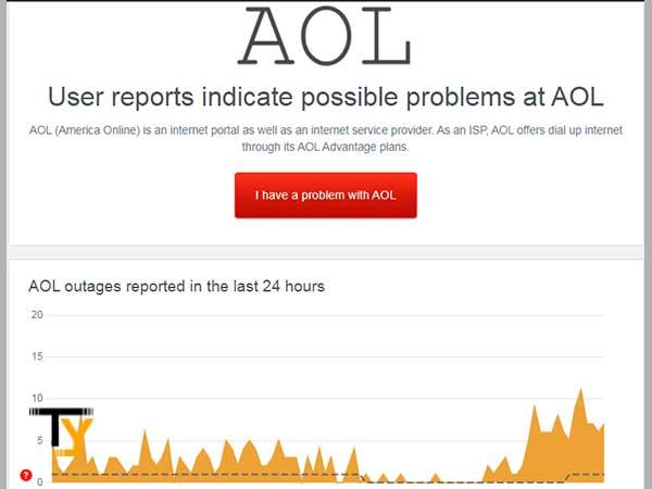Check AOL Server Status