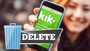Know Two Different Ways to Delete Your Kik Account