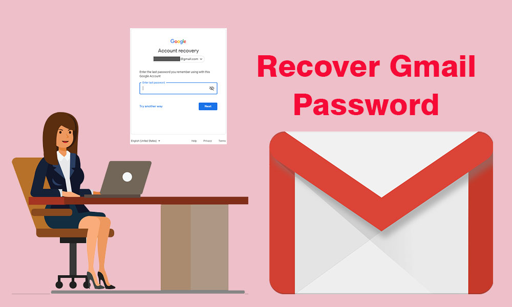 Different ways to recover gmail password