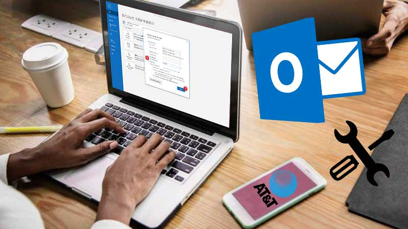 Guide to Set up AT&T Email on Outlook