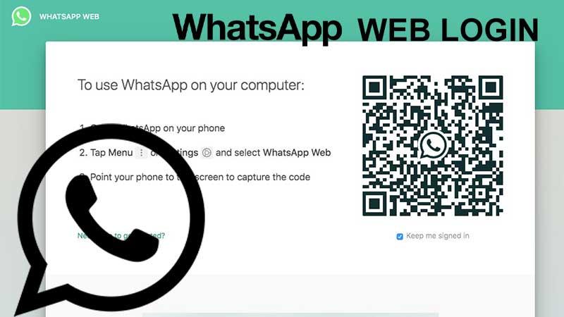 How to do WhatsApp Web Login