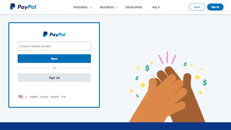Paypal-com-login