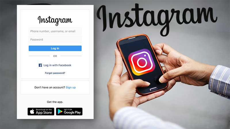 Log-in-to-Instagram