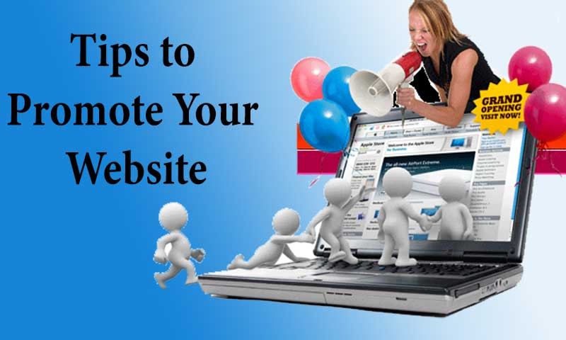 Tips to Promote Your Website